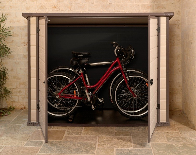 fahrradbox bike and more keter 17192185. Black Bedroom Furniture Sets. Home Design Ideas