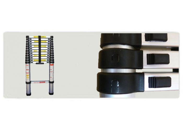 g21 teleskopischer leiter ga tz9 2 6m 6390382. Black Bedroom Furniture Sets. Home Design Ideas