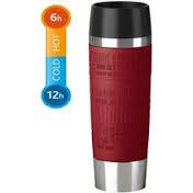 thermobecher 0 5l red travel mug grande emsa