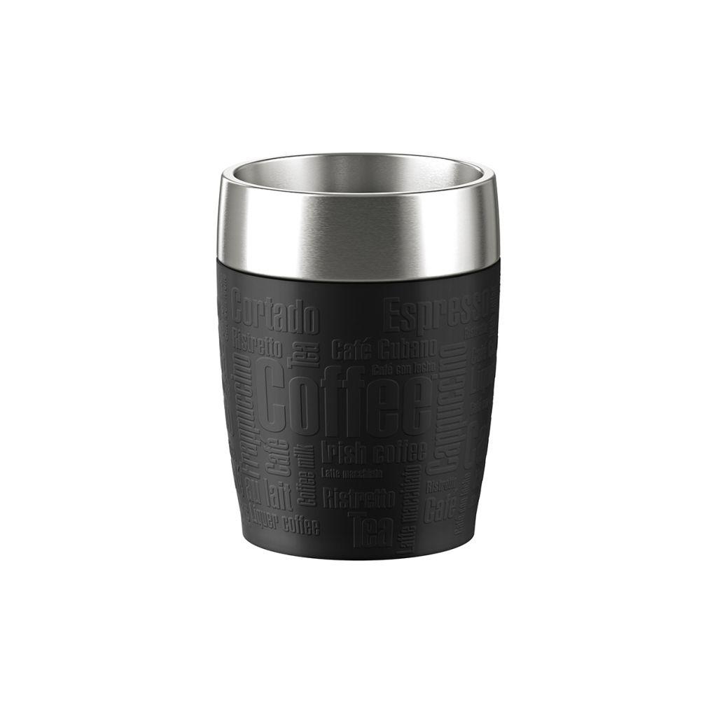 thermobecher schwarz 0 2 l travel cup emsa. Black Bedroom Furniture Sets. Home Design Ideas